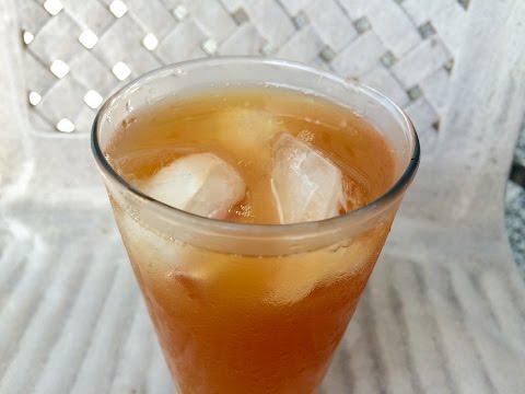 Ginger Lemon Iced Tea | Kitchen Time With Neha