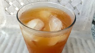 Ginger Lemon Iced Tea - Super Refreshing!