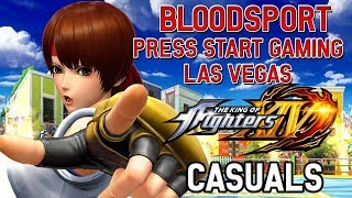 KOFXIV - Casuals @ Bloodsport | Press Start Gaming Center - Las Vegas, NV thumbnail
