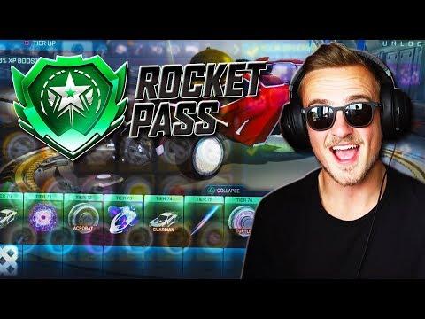 Spending 100 KEYS On Opening ROCKET PASS TIERS! [New Rocket League Update] thumbnail