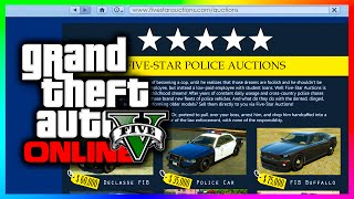 GTA 5 Online - Police Vehicles & FIB Cars Website Concept Idea! (GTA V)