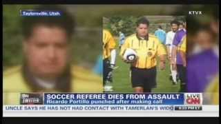 Soccer referee punched by player dies in Utah (May 5, 2013)