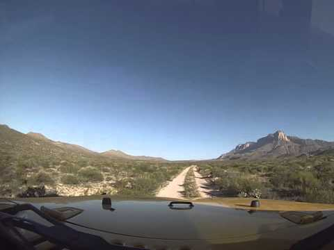 Williams Ranch Off Road Trail Part 1, Guadalupe Mountains National Park