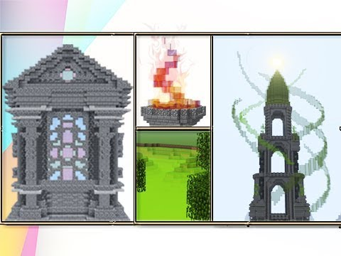 The Wonders Of Stained Glass In Minecraft Youtube