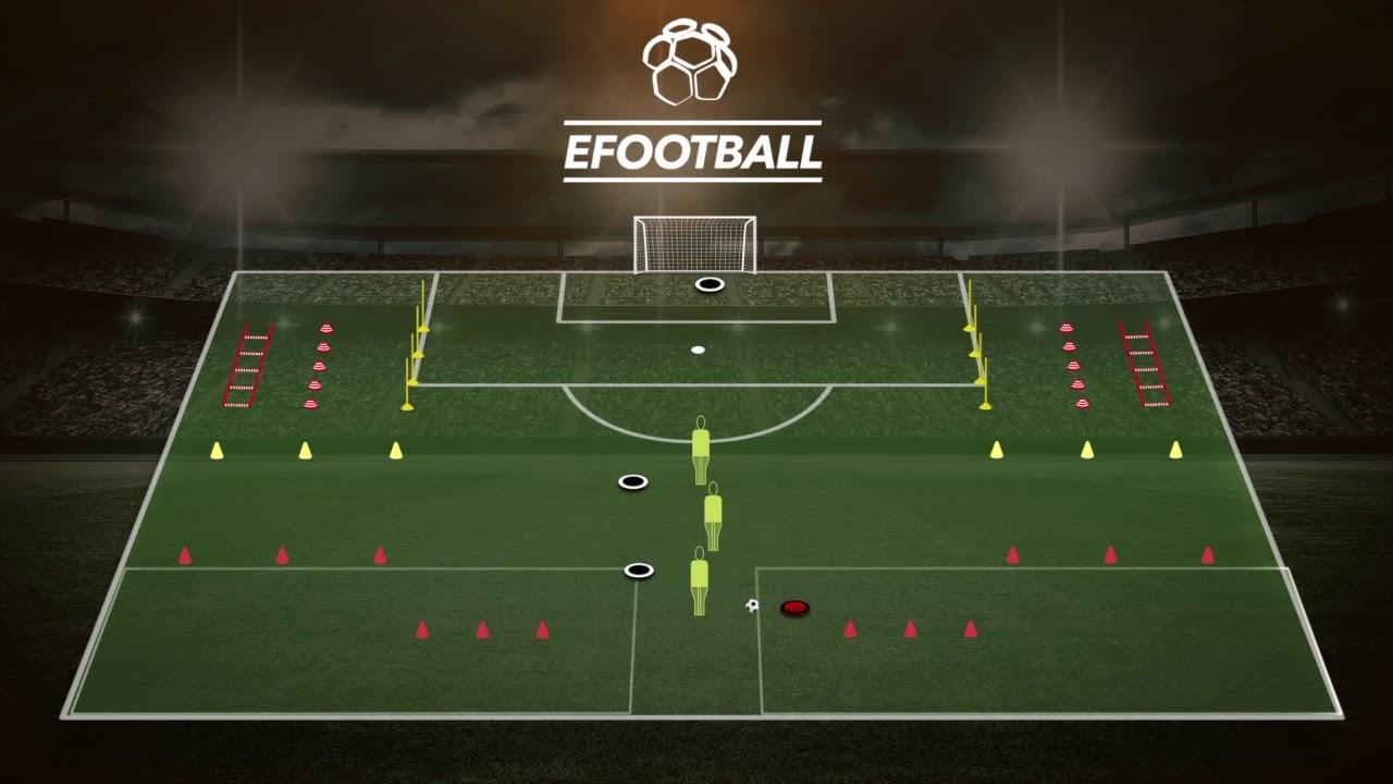 Circuito Tecnico Futbol : Fútbol circuito físico técnico con finalización youtube
