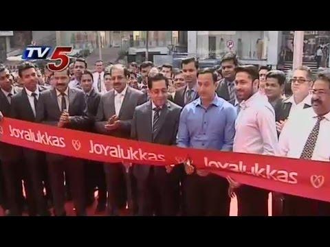 Collector Praveen Kumar Inaugurate Joyalukkas Showroom in Visakhapatnam | TV5 News