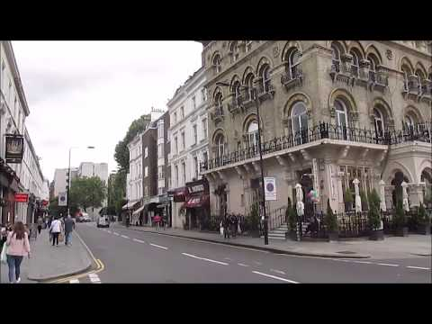 London, England: South Kensington neighborhood