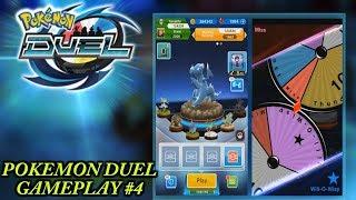 Pokemon Duel Gameplay, Luck is with us 2-game winning streak.