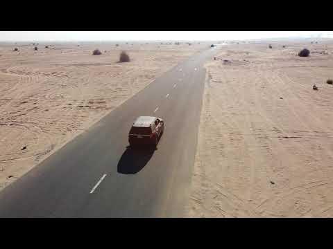 DJI Drone in Exit 55 Dubai UAE – My Car (16-01-2021)