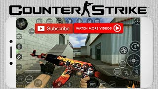 Getting Counter Strike 1.6 Android In A Minute!(CS Mod)