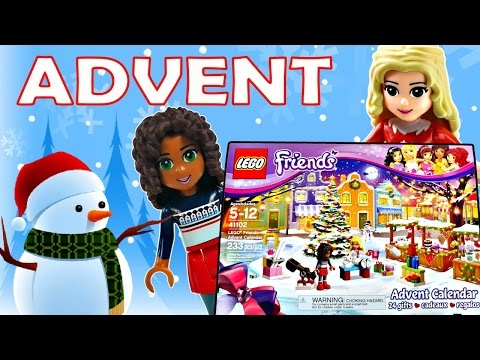 LEGO Friends Full 24 Day Advent Calendar Opening *** DCTC videos