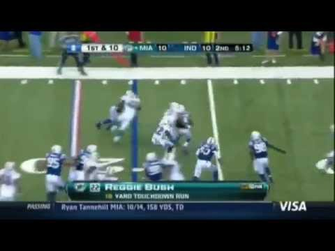 Terry Bradshaw Says Reggie Bush Was Chasing a Bucket of Chicken..Dolphins vs. Colts 2012