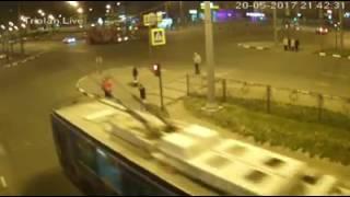 Авария на перекрестке проспекта Гагарина и улицы Одесской