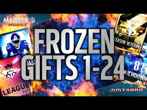 MOST EXPENSIVE GIFTS! Huge Present Opening! (Madden Mobile 17 ...