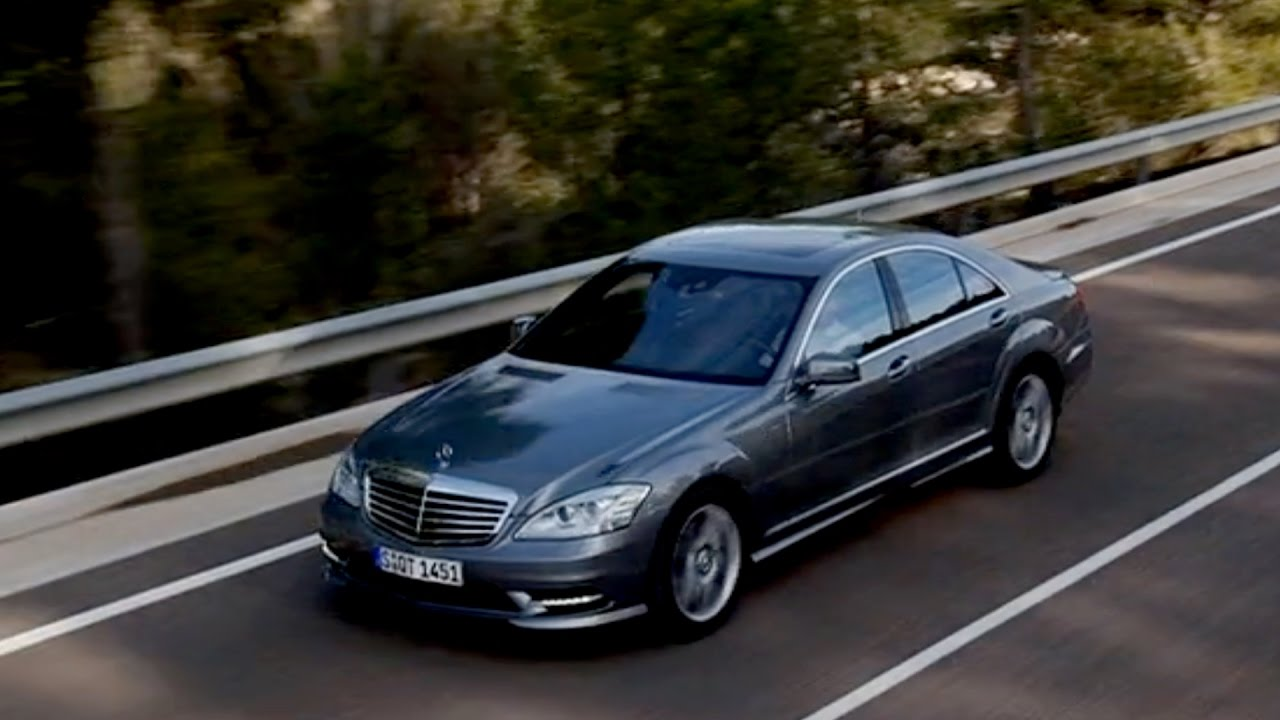 2009 mercedes benz s class youtube for Mercedes benz s550 2009