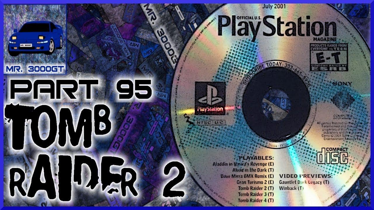 Underwater Butt Camera Tomb Raider 2 Psx Demo Disc Part 95 Youtube