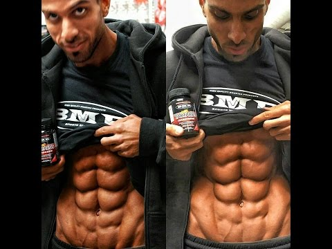 THE MAN WITH 10 PACK ABS !!!