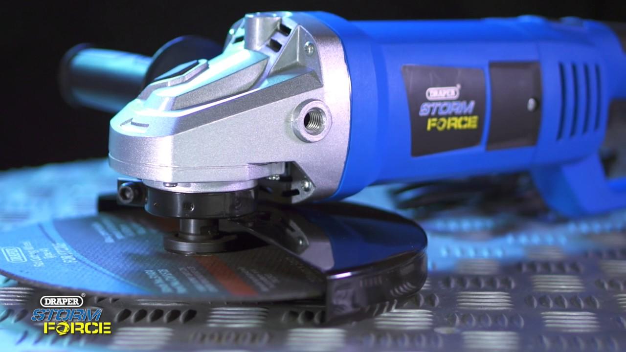 Draper 83655 Storm Force 180mm Angle Polisher 1200W 230 V