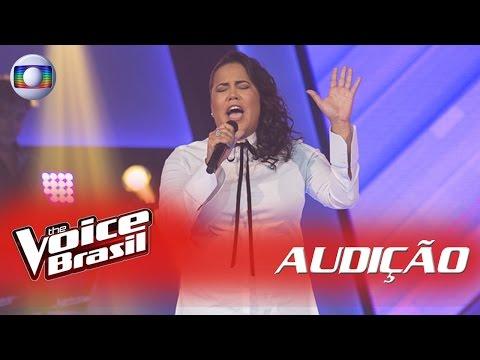 Gabi D'Paula canta 'Força Estranha' nas Audições – 'The Voice Brasil' | 5ª Temporada