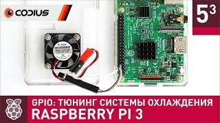 Тюнинг активной системы охлаждения - Raspberry Pi 3: GPIO (#3)