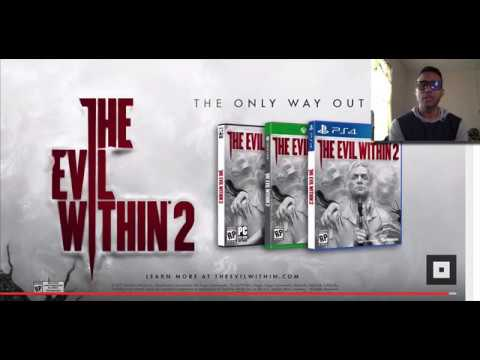 Reaccion a (The Evil Within 2 Gameplay Trailer)