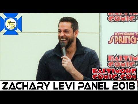 Zachary Levi Shazam Panel  Baltimore Comic Con 2018