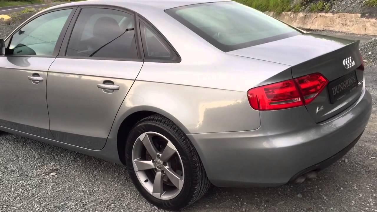 2009 Audi A4 2.0TDI 'Black Pack' - YouTube