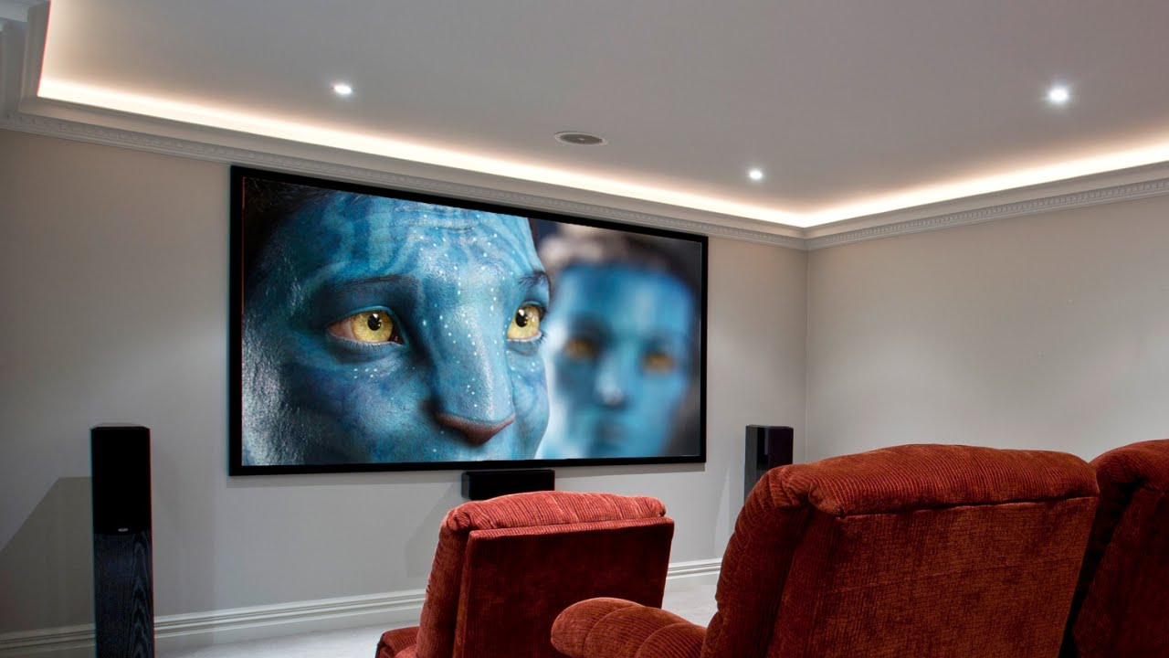 Brilliant Small Home Theatre Ideas Youtube