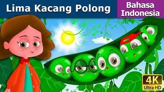 Video Lima Kacang Polong | Dongeng bahasa Indonesia | Dongeng anak | 4K UHD | Indonesian Fairy Tales download MP3, 3GP, MP4, WEBM, AVI, FLV Agustus 2018
