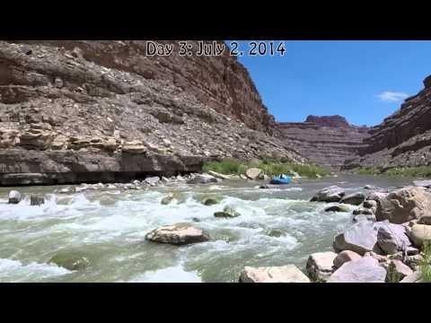 Lower San Juan River July 30-July 4, 2014