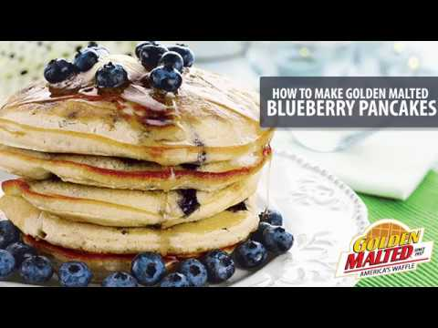 How to make golden malted pancakes youtube ccuart Images