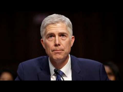 Gorsuch fires back at Democrats