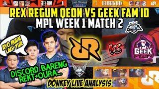 Gambar cover NOBAR RRQ VS GEEK FAM ID MATCH 2!! DISCORD NGOCEH BARENG REKT OURA!!!   Donkey Bar Bar