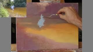 Клапоух Юрий. Урок живописи. От общего к деталям.
