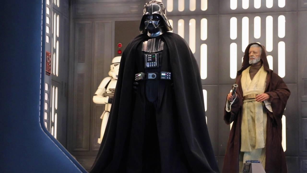 Hot Toys MMS434 Darth Vader Boots Star Wars Episode IV ANH Tarkin