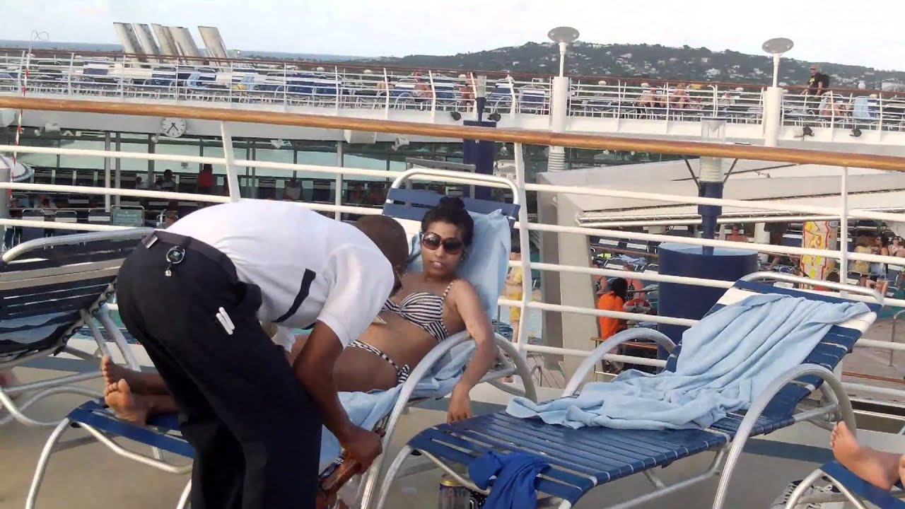 cruise ships decks on Topless