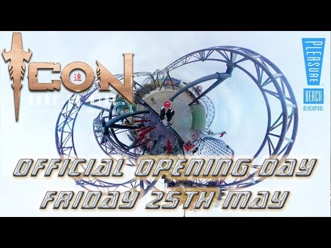 ICON Opening Day Pleasure Beach Friday 25th May Tiny Planet and POV
