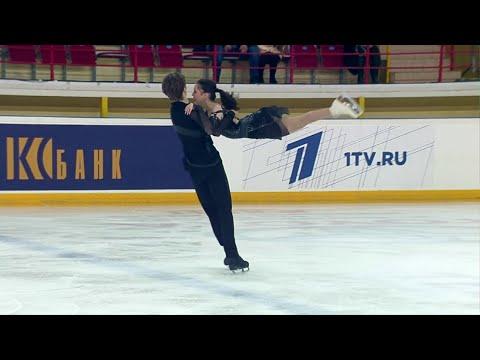 Произвольный танец. Танцы. Первенство России по фигурному катанию среди юниоров 2020