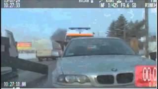 WYPADEK   dwa samochody osobowe karetka i ciężarówka 31 07 2013