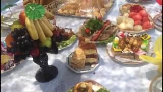 Сервировка на Кудалык. Село Дербисек. Южный Казахстан - 1 Minute Story NS