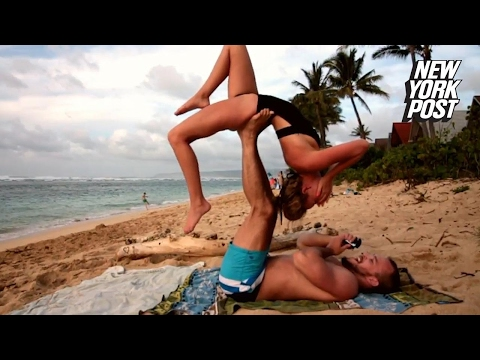 This upside-down yoga proposal was a total stretch | New York Post