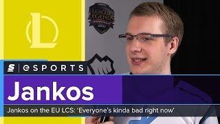 H2k's Jankos on the EU LCS: 'Everyone's kinda bad right now'