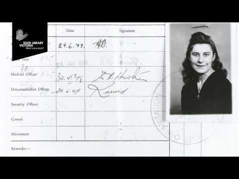 Moya McFadzean on collecting migrant stories at Museum Victoria