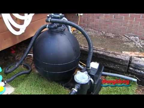 How do i hook up my above ground pool vacuum