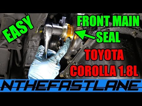 ▶️Front Main Seal Replacement (Toyota Corolla 03-08)🔧