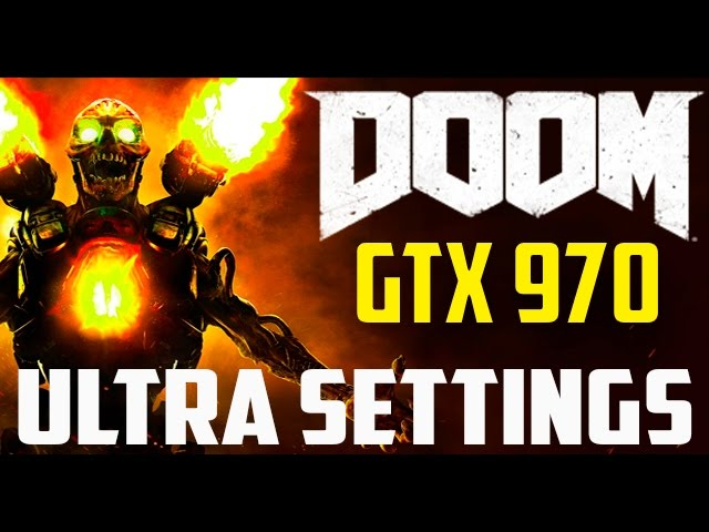 Doom Performance GTX970