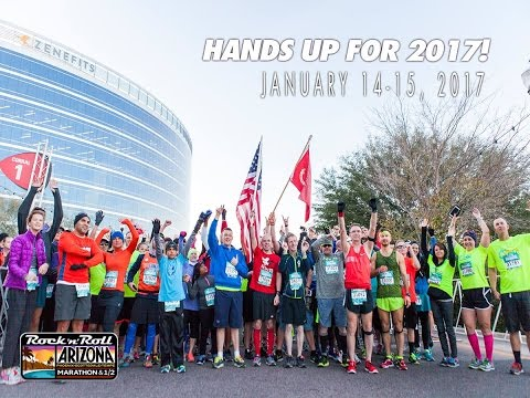 The Arizona Rock 'n' Roll Marathon, Half Marathon, 10K & 5K