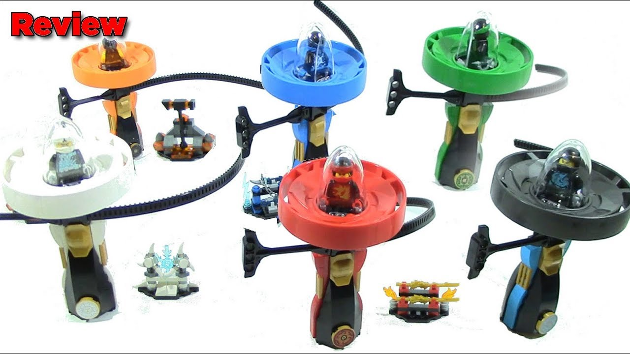 All 6 LEGO Ninjago Spinjitzu Masters Review - YouTube
