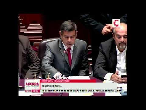 Comisión Permanente sobre autorización de viaje del presidente de la República (2/2)(21/02/18)