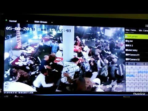NGERI !!! CCTV Lantai 12 Hotel Golden Palace Lombok pas Gempa 7.0 SR